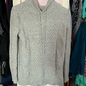 Hooded American Eagle Sweater